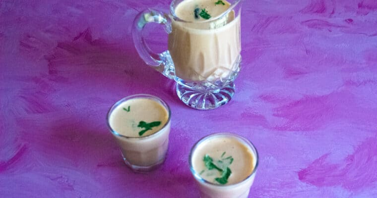 5-minute no-cook digestive and immunity boosting sol kadhi recipe